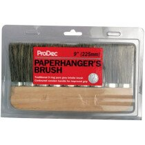 "ProDec PPHB9R 9"" (240mm) 9 Ring Pure Bristle Paperhanging Brush"