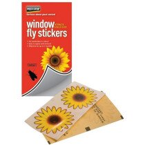 Pest-Stop PSWFS Window Fly Stickers (Pack of 4)  PRCPSWFS