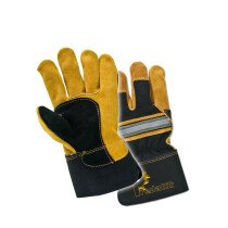 Lawson-HIS PRED 1 Hi Vis Superior Rigger Glove Cat 2 (Gold/Black)