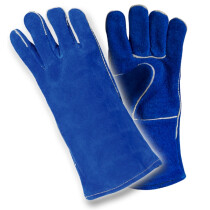 Lawson-HIS RSW1C Welders Lined Welding Gauntlet Blue