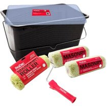 ProDec PRKT012 3 x Heavy Duty Masonry Sleeves, Frame and 15L Scuttle
