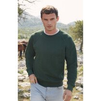 Fruit Of The Loom 62216 Men's Classic Raglan Sweatshirt - Various Colours Available