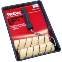 "ProDec PRRT008 9"" x 1.75"" Tiger Medium Pile Roller Kit"