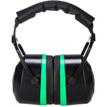 Portwest PS44 Top Ear Muff Hearing Protection - Black