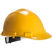 Portwest PS57 Expertbase Wheel Safety Helmet Head Protection - Available in Various Colours