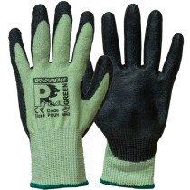 Predator PUUH / Emerald PU Coated Glove Green Cut level 5 (Changing to 4X43C)