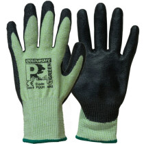 Predator PUUH / Emerald PU Coated Glove Green Cut level 5 (Changing to 4X43C)