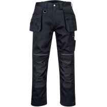 Portwest PW347 PW3 Cotton Work Holster Trouser - Black