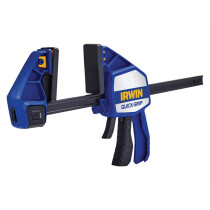 Irwin Quick-Grip 10507724 Xtreme Pressure One Handed Clamp 300mm (12in) Twin Pack