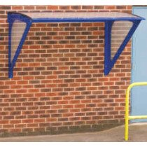 QMP SS102011WM2 (Previously SS102015WM2) Small Wall Mounted Smoking Shelter