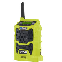 Ryobi R18R-0 Body Only 18V Cordless Radio with Bluetooth ONE+