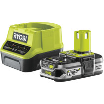 Ryobi RC18120-115 1x1.5AH Lithium+ Battery and Charger ONE+