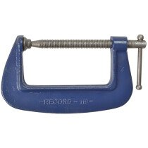 """Irwin Record T119/4 Forged G-Clamp 119 series 100mm (4"""")"""