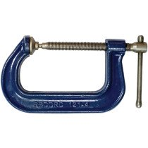 """Irwin Record T121/4 Heavy Duty Forged 121 Series G-clamp 100mm (4"""") REC1214"""