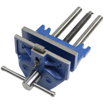 """Irwin Record T52PD 7"""" Plain Screw Woodworking Vice with Dog REC52PD"""