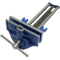 """Irwin Record T53ED Quick Release 10 1/2"""" Woodworking Vice with Dog REC53ED"""