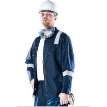 Roots RO13190N Navy Blue FR AntiStatic Flamebuster Nordic Jacket