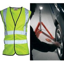 JSP Type B Road Safety Kit - Choice of Different Vest Size Available