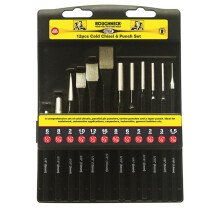 Roughneck 31-180 Punch and Chisel Set of 12 ROU31180