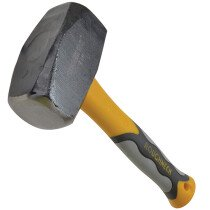 Roughneck 61-504 Club Hammer 1.81kg (4lb) Fibreglass Handle ROU61504