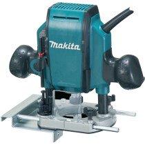 """Makita RP0900X 110v 1/4"""" & 3/8"""" Plunge Router - 110v"""