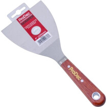 "ProDec RPS4 4"" Scale Tang Paint Scraper with Rosewood Handle"