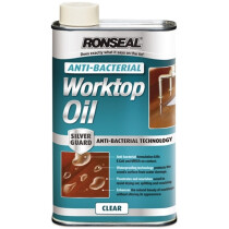 Ronseal 36223 Anti-Bacterial Worktop Oil 500ml RSLABWO500