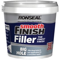 Ronseal 36558 Smooth Finish Big Hole Filler 1.2 Litre RSLBHF12L