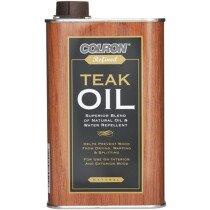 Ronseal 34544 Colron Refined Teak Oil 500ml RSLCRTO