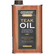 Ronseal 34544 Colron Refined Teak Oil 500ml RSLCRTO