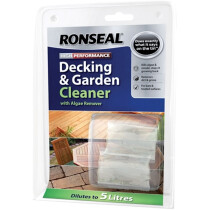 Ronseal 36438 Decking Cleaner (2 x 20 ml) RSLDC20ML