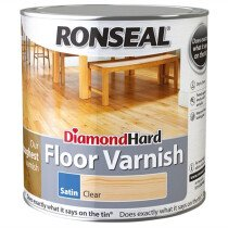 Ronseal RSLDHFV5L Diamond Hard Floor Varnish 5 Litre
