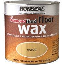 Ronseal RSLDHFW25L Diamond Hard Floor Wax 2.5 Litre