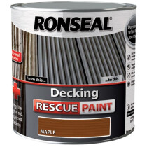 Ronseal RSLDRP25L Decking Rescue Paint 2.5 Litre