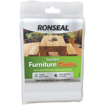 Ronseal 35838 Garden Furniture Oil Application Cloths (Pack 3) RSLGFC