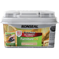Ronseal RSLGFO750 Perfect Finish Hardwood Garden Furniture Oil 750ml