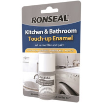 Ronseal 35109 Kitchen and Bathroom Touch Up Enamel RSLKBTUE