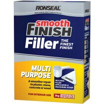 Ronseal 36550 Smooth Finish Multi Purpose Interior Wall Powder Filler 2kg RSLMPPF2KG