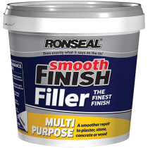 Ronseal 36547 Smooth Finish Multi Purpose Interior Wall Filler Ready Mixed 2.2kg RSLMPRMF22KG