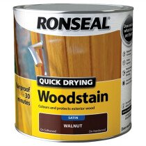 Ronseal RSLQDWS250 Woodstain Quick Dry Satin 250ml