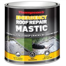 Ronseal 36082 Thompsons Emergency Roof Repair Mastic 750ml RSLTERRM750