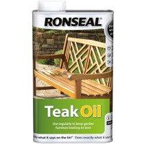 Ronseal 35819 Teak Oil Can 500ml RSLTO500