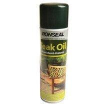 Ronseal 35820 Teak Oil Aero 500ml RSLTOAERO