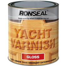 Ronseal RSLYV500 Exterior Yacht Varnish 500ml