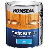 Ronseal 30241 Exterior Yacht Varnish Satin 250ml RSLYVS250