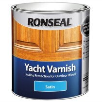 Ronseal 30241 Exterior Yacht Varnish Satin 250ml RSLYVS250