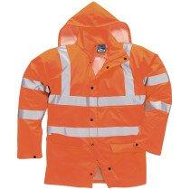 Portwest RT50 Sealtex Ultra Waterproof Unlined Jacket - Orange