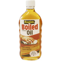 Rustins BOIL125 Linseed Oil Boiled 125ml RUSLOB125