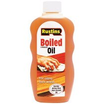 Rustins BOIL300 Boiled Linseed Oil 300ml RUSLOB300