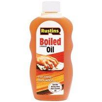 Rustins BOIL300 Boiled Linseed Oil 300ml RUSLOB300